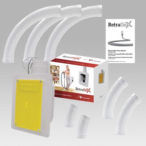 Offre cyclo vac r traflex aspirateur central cyclo vac suisse - Aspiration centralisee cyclovac ...