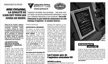 Article presse2 Aspirateur Cyclo Vac