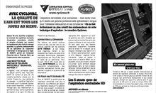 Article presse2 Aspirateur Cyclo Vac